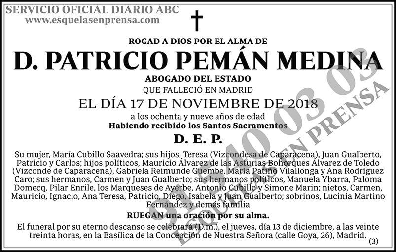Patricio Pemán Medina